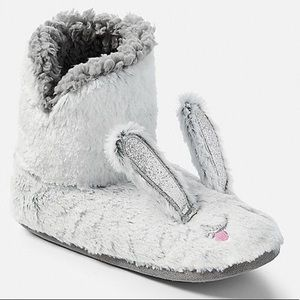 Justice Bunny Slippers - EUC!
